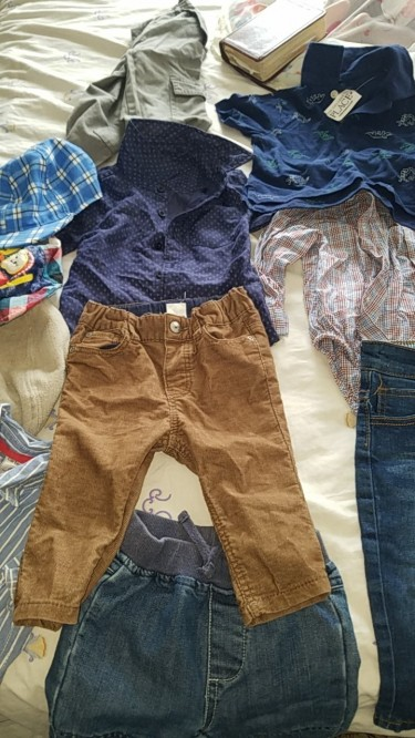 Used Boy Clothes 3months To 1yrs Old