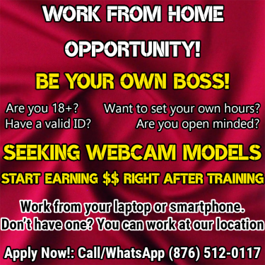 Work From Home: Erotic Online Cam Models Needed