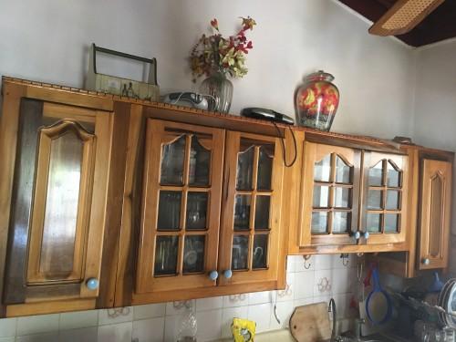 Hardwood Kitchen Cabinet