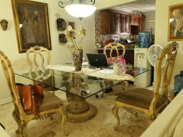 Karmen's Kollection 4=Piece Dining Room Set