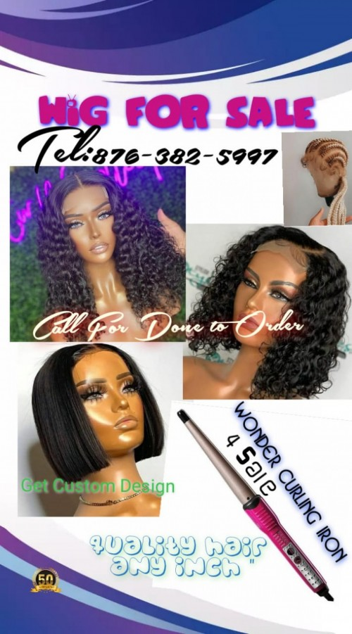 Get Your Pre Order Hair @ Any Inch