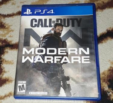 PS4 Call Of Duty: Modern Warfare (2019)