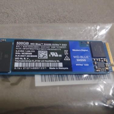 500gb Western Digital Blue Sn550 Nvme Ssd