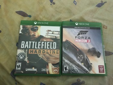 Forza And BattleField (4.5k For Both)
