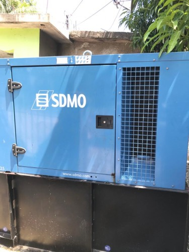 Stand By Generator  33k Va With Transfer Switch
