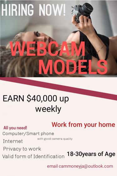 Webcam Model Jobs