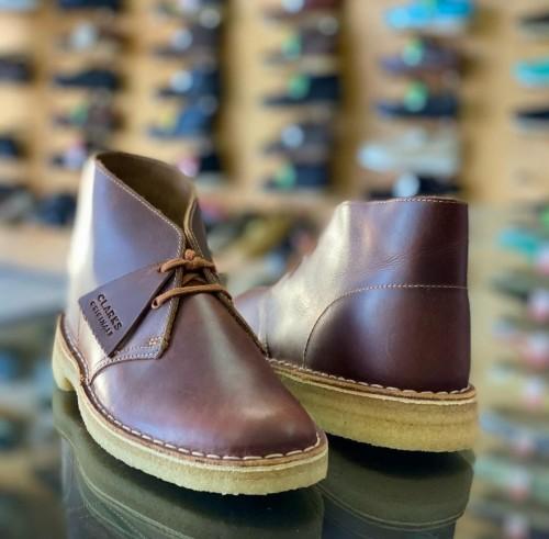 Clarks Desert Leather