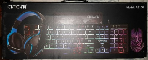 Gaming Keyboard Mouse And Gaming Headset