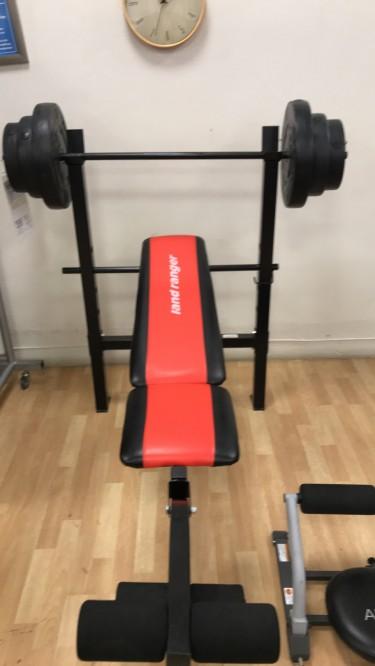 100lbs Bench Press Machine