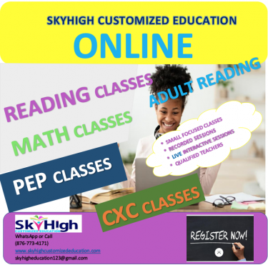 ADULT READING CLASSES(SKYHIGH Customized Education