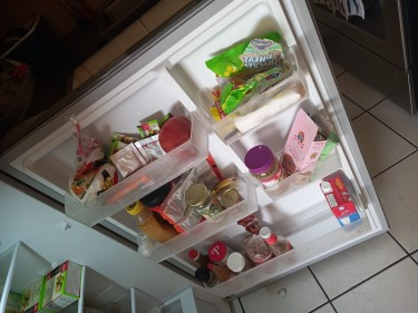 2 Months Old Blackpoint Fridge For Sale _ 19cubic