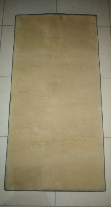 Plush Cream Color Carpet