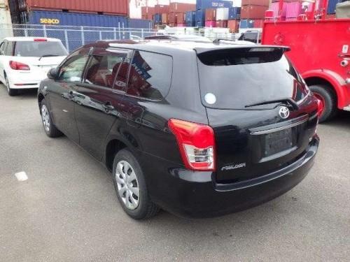 Toyota Fielder Push Start 2012