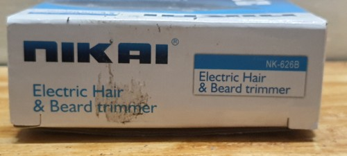 Travel-Size Electric Hair Clipper