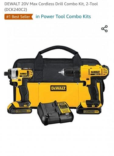 Drill Kit Set 20 Volt