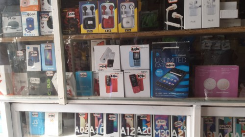 Downtown Store Present A Phone Sale
