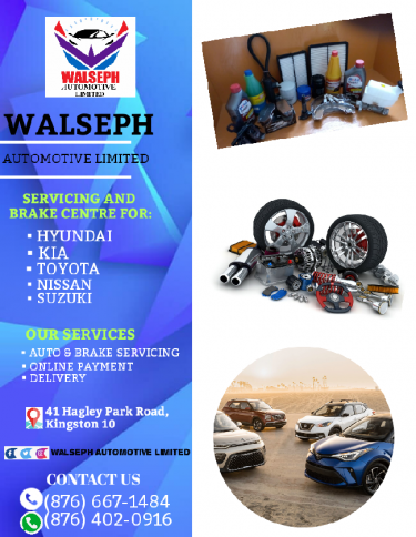 Walseph Auto And Brake Servicing Parts