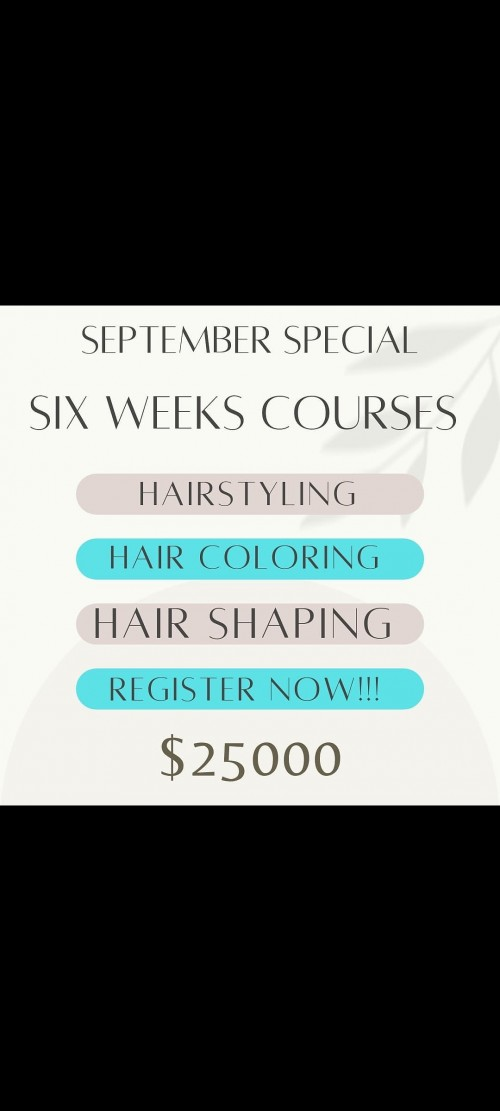 6 Weeks Course In Beauty Theraphy