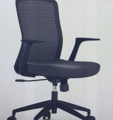 Chair - Anji (Kenvo) Med. Back  - Black