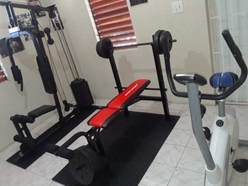 Home Gym Set(Bike,Bench&Home Gym)