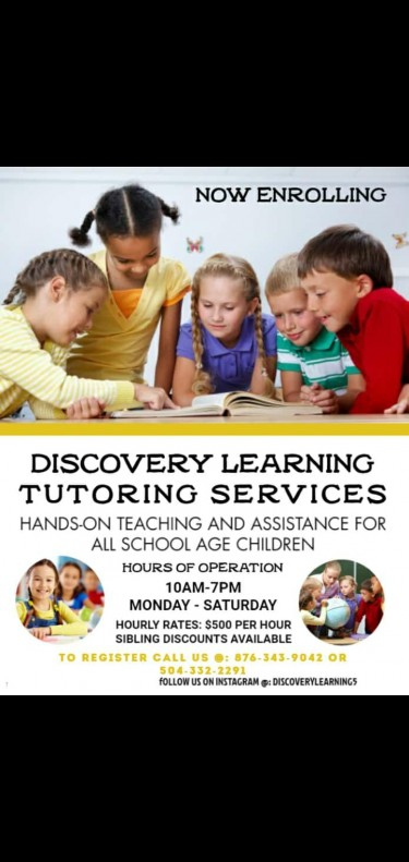 Discovery Learning Tutoring Services