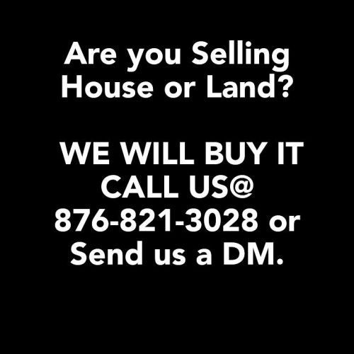 Anyone Selling House Or Land?