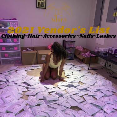 VENDOR LIST (MIXED)  Hair Islandwide