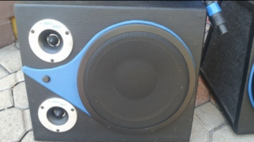 Eminence Alpha 8 Inch With Tweeters In Box