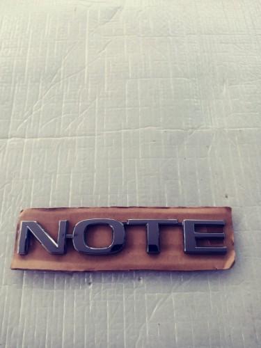 Nissan Note Genuine Rear Emblem
