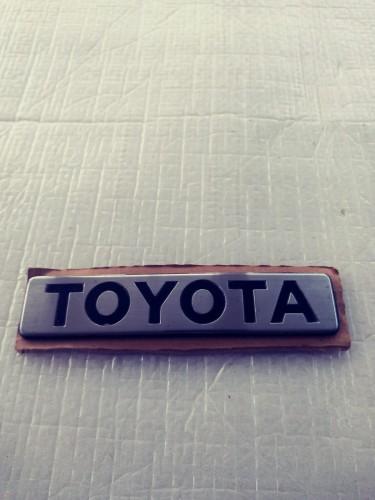 Toyota Genuine Emblem