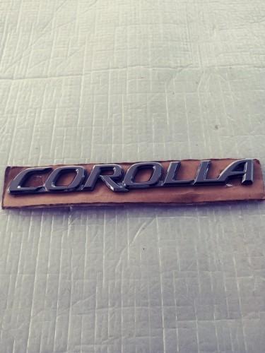 Toyota Corolla Genuine Rear Emblem