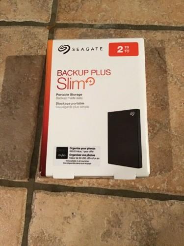 Seagate 2TB External Hard Drive-New