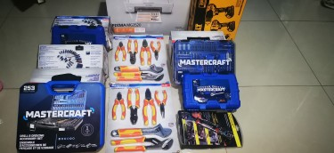 MASTERCRAFT PLIERS AND WRENCH SET