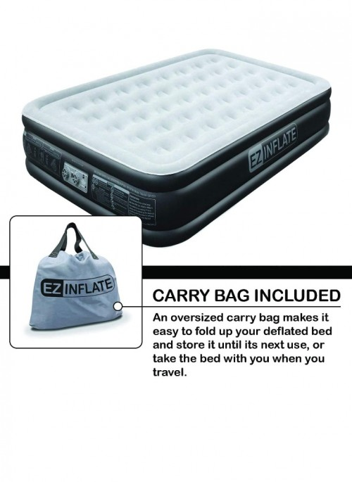 Luxury Air Bed With Built In Pump Queen Size