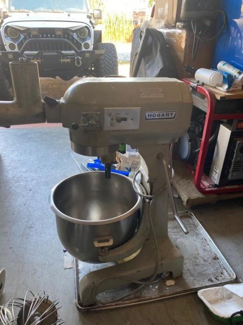 20quart Hobart Cake Mixing Bowl Tools Mandeville