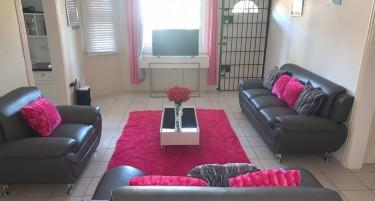 Good As New Modern Grey Sofa Set Furniture Spanish Town