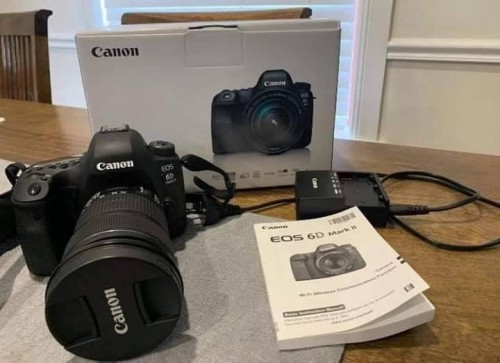 Brand New Canon 6D Mark II
