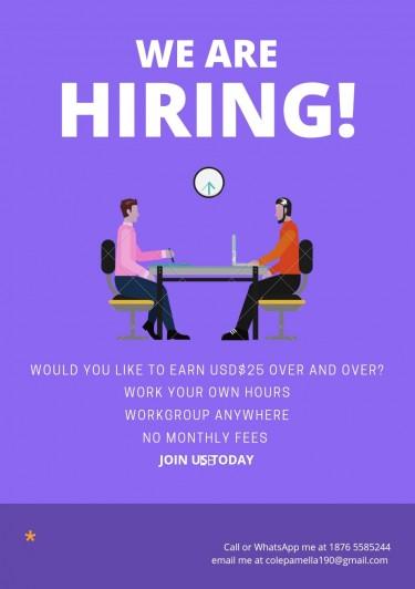 P C ENTERPRISE - We Are Hiring  Part Time Jobs JAMAICA